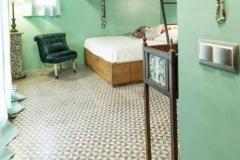 suelo hidráulico en habitación juvenil