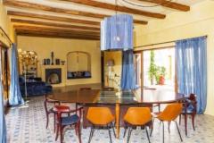 Salón tradicional suelo hidráulico